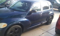 Pt cruiser, Vehicle, 2001 pt cruiser, dark blue