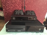 Xbox One, Electronics, Xbox One with Kinect, Used only twice. Factory Restored. 500 GB Hard Drive. With Kinect.