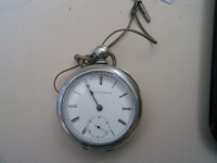 Antique Pocket Watch, Antique, Collectible, Has key, I didn't wind it up or mess with it, dad left behind.