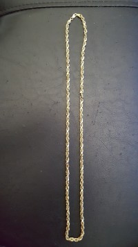 10kt gold necklace, Jewelry, 6.9grams 10kt gold , 10kt gold necklace