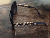 Chanel sunglasses, Other, Chanel quilted sunglasses with of hardware