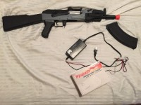 Air soft gun, Other, Ak-47 air soft gun comes with magazine and universal smart charger I paid 150 for the gun and 20 for the charger