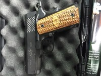 Kimber ultra raptor II, Gun, Original box and papers , Kimber ultra raptor II 3 inch barrel blued barrel .45 ACP with original box and papers.  Perfect condition