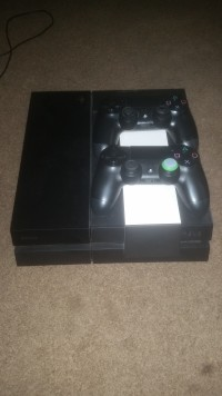 ps4 , Electronics, Playstation 4 CUH-1001A, Gently used playstation 4 with two controllers and charger docks