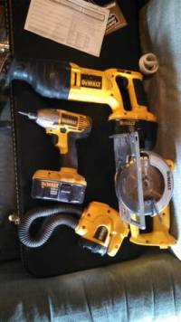 DeWalt set for sale, For sale o trade dewalt set, Like new