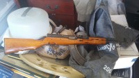 SKS Rifle, Gun, shots two clips, Chinese SKS Assault Rifle