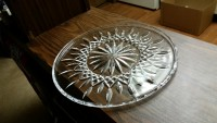 crystal , Other, Lead crystal cake plates