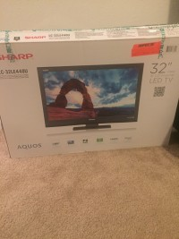 Tv, Electronics, Sharp Tv, 32 inches remote Manuel included