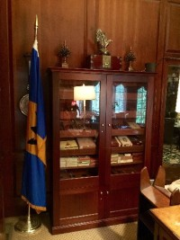 Humidor, Antique, Collectible, Large 7 foot tall humidor. Lights up. Electric. Full of highest quality Cubans. Will sell with cigars. Approx 300 cigars.