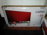 vizio e55-c2 55 class 1080p 1220hz full-array led smart hdtv, Electronics, e55-c2 , Like new still have Have box