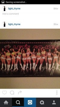 autographed heat dancers poster, Other, 2012 autographed heat dancers poster