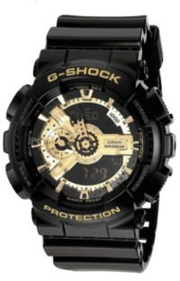 A limited edition G-Shock watch, Luxury Watch, G-shock Black and Gold Series, The same looking watch is called GA110GB-1A on amazon, no shipment box tho, had for about a year but haven't worn it very often. like once a month