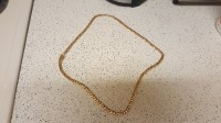 Chain, Jewelry, 101 grams , 29 inches Cuban links gold chain