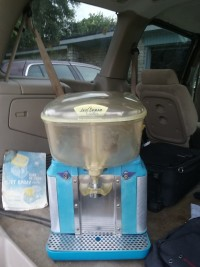 Jet spray cooler , Antique, Collectible, Orange crush still works good just needs gasket ...