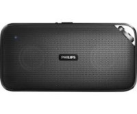 Philips BT3500 Portable Bluetooth Speaker, Electronics, Phillips, Black, Bluetooth, 2in thick, 8in long, perfect condition