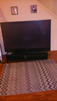 "73"" tv, Electronics, Mitsubishi, 2011 - model #WD73640"
