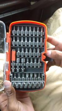 HDX 50 piece drive bit set, Tools, Equipment, All pieces, never used brand new