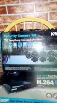Security Camera Kit, Electronics, K Guard H.264, Never used still in box perfect condition no damage.