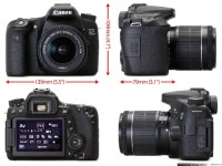 Canon EOS 70D, Electronics, 112026007685, Touch Screen, Lens, No scratches