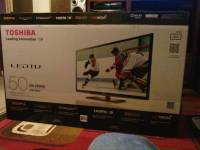 "50"" toshiba led tv, Up for sale almost brand new 50"" toshiba led tv there's nothing wrong with it, Like new"