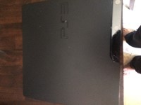 PlayStation 3 , Electronics, PlayStation 3 Slim , 120gb , no controllers, comes with cords
