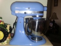 Kitchenaid stand mixer, Other, Artisan stand mixer with 3 attachments. Like new
