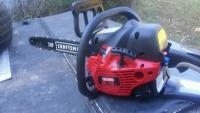 Craftsman Chain Saw, Tools, Equipment, Bought in March. Less then 15 minutes use. 18 inch, 42cc with Simple technology, Sn#14239n200229