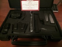 Springfield xmd 45, Gun, All that came with the case.
