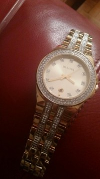 Bulova watch, Luxury Watch, Bulova, I got this watch as a gift but I no longer have the box I have never worn it it's too flashy for my taste