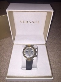 Versace watch, Luxury Watch, Versace Q5C70D009S009, New in box with tags and authenticity card.