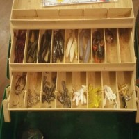 fully stocked tackle box, Other, Fishing gear... Hooks weights lures