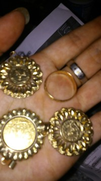 17 grams of 14k, Jewelry, medallions, rings , all 14k gold