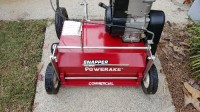 Snapper commercial power rake, Tools, Equipment, This is a like new condition 21 inch detatcher power rake with commercial 5 hp briggs motor. Needs nothings. Starts first pull