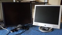 dell and hp monitor, Electronics, dell  , 19 in dell monitor great condition