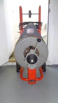 Main sewer line machine , For sale is a K750 drain cleaning machine. Accessories are still available., Like new