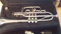 Chrome King Tempo Trumpet, Musical Instruments, Equipment, Chrome KING TEMPO USA Trumpet