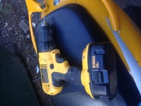dwalt battery drill 18v, Tools, Equipment,