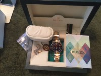 rolex submariner, Luxury Watch, 2 tone rolex submariner, includes everything paperwork and box