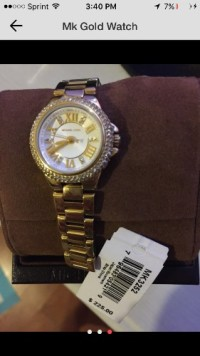 mchael kors watch , Luxury Watch, miachel kors , gold diamond watch