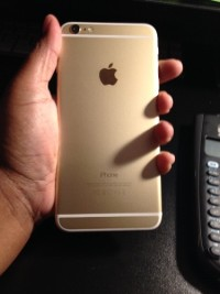 Gold Verizon iPhone 6plus 64 gb, Electronics, Apple iPhone 6plus, 2014, Phone has been kept in a case with a tempered glass screen protector. From a smoke free home.