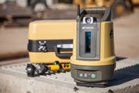 Topcon LN100 Robotic Total Station with tripod, extra battery, ,