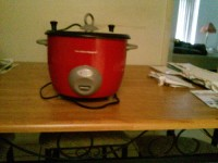 Rice cooker, Other, Red Hamilton beach