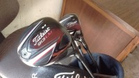 golf clubs, Other, Titleist and Callaway golf club set, Titleist drivers 913d2 and 913f, Callaway X2.0 tour irons # 3,4,6,7,8,9 #5 titleist Api 712, sand wedge king cobra oversized, putter Titleist scott cameron circa62 with Sun Mountain 3.5 superlight golf bag all in great shape.