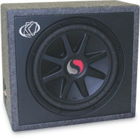 "car subwoofer, Electronics, kicker solo classic ""12"" 4ohms, unknown, subwoofer, 12"", 4ohms, gently used"