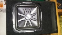 12 inch l7 kicker in subwoofer box with amp, Electronics, kicker l7, 2015, it is in a subwoofer box l7 kicker 12 inc only used for a month like new very great condition