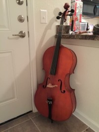 Cello, Musical Instruments, Equipment, Antonio Strad, size 4/4, model 32H comes with new soft case and bow with resin.