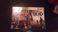 Xbox video games, Other, The walking dead and L.A. Noire