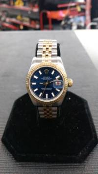 rolex oyster perpetual datejust 18k/stainless, Selling an excellent shape ROLEX OYSTER DATEJUSTE 18K GOLD/STAINLESS, this is very nice lady watch!fully functional., Like new