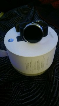 Moto 360 Android smart watch, Electronics, Moto, 2015, almost new, have the box and paperwork