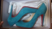 christian louboutin shoes, Designer Wear & Handbags, Ron Ron 100 Suede Riviera Christian Louboutin size 7